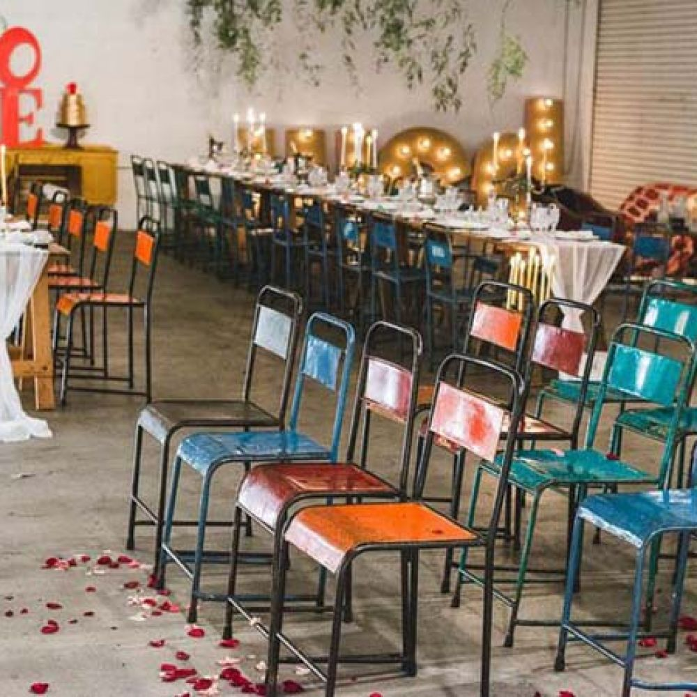 Wedding Industrial Chic